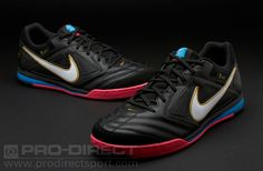 Nike Football Boots - Nike5 Gato Leather CR - Soccer Cleats - Fives - Black-Blue