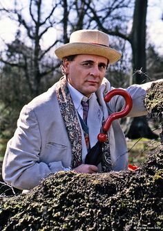 Dr Who Sylvester McCoy by Steve Cook