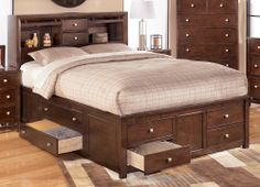 king beds with storage | ... table double bed bunk insulated 1 1 4 double bed storage storage 38