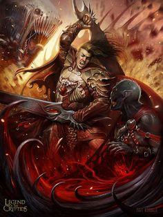 Legend of the Cryptids - Vampire Hunter Advanced by *yigitkoroglu on deviantART