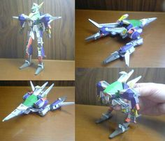 Transformable Lezurioru Free Robot Papercraft Download - http://www.papercraftsquare.com/transformable-lezurioru-free-robot-papercraft-download.html#Lezurioru, #Robot, #Transformable