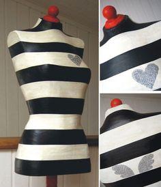 Handwerklich Schaufensterpuppe- Handmade mannequin