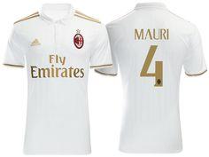 Maillot Extérieur AC Milan JOSE' MAURI