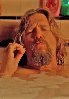 Jeff Bridges / The Big Lebowski. The Big Lebowski, El Gran Lebowski, Jeff Bridges, Jorge Guzman, Dudeism, Pier Paolo Pasolini, Coen Brothers, About Time Movie, Tv Shows