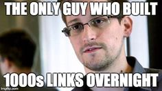 Edward Snowden SEO Meme