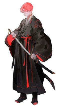 Ideas Anime Art Character Design For 2019 Manga Art, Manga Anime, Anime Guys, Character Concept, Character Art, Concept Art, Anime Kimono, Kimono Design, Drawing Clothes