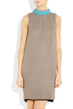 DVF tweed dress