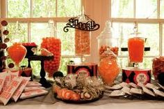 halloween candy buffet - Google Search