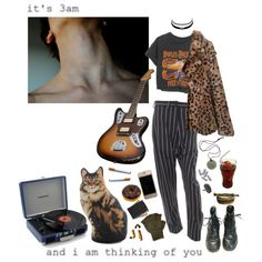 even if he were blind he wouldnt have seen the beauty right in front of him by shootingstarsofsadness on Polyvore featuring Claudie Pierlot, Vivienne Westwood Anglomania, Royce Leather, Charlotte Russe and Harley-Davidson