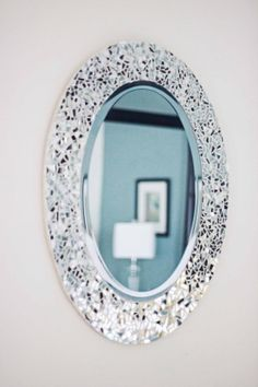 Mirror 24x 30 Oval Mosaic By FrizzoFrames On Etsy, $185.00