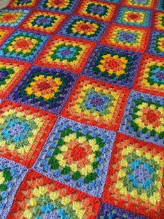Ravelry: Project Gallery for Granny Classic Afghan pattern by Mary Jane Protus