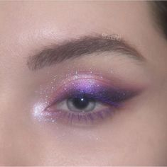 Glitter Makeup Looks, Makeup Eye Looks, Eye Makeup Art, Cute Makeup Looks, Gorgeous Makeup, Pretty Makeup, Makeup Inspo, Makeup Inspiration, Makeup Goals