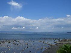 鹿児島県の夏の海/Sea in the summer of Kagoshima Prefecture.