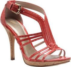 Women's Isola Irela - Coral Snake/Coral Patent