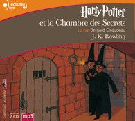 French Audiobook of Harry Potter et la Chambre des Secrets