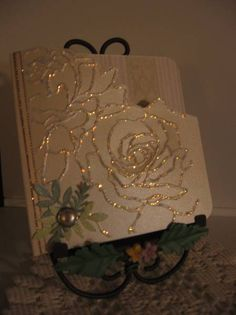 rose embossing folder | SU Manhattan Rose Embossing Folder - Card #2 - Without Flash