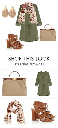 """""""Sin título #175"""" by adelprado ❤ liked on Polyvore featuring Fendi, H&M, Lipsy and Alexis Bittar"""