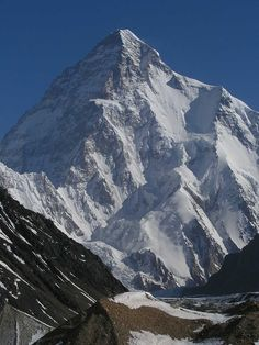 K2 (China): 'The mountain of death'. With 8.611m. It is the second highest mountain on Earth.