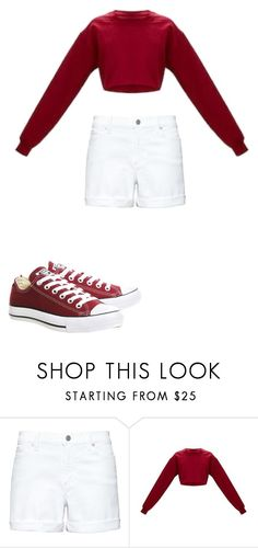 """Untitled #129"" by kaylagutz on Polyvore featuring Converse"