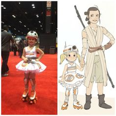 BB-SK8 Rolled Through #C2E2 And Won All The Hearts! #StarWars #BB8 She's so cute it's disgusting!