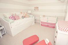 enxoval quarto bebe rosa vermelho verde