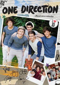 Official One Direction 2014 Calendar:Amazon:Books