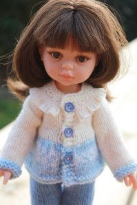 Et oui encore un de plus dans sa garde-robe ! L es explications du petit gilet sont là ! Page 1 , Page 2, voilà bon tricot à vous toutes, Céline.