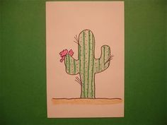 Let's Draw a Cactus!