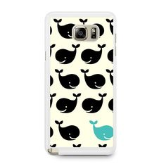 Cute Whales Samsung Galaxy Note 5 Case
