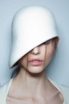 Hat by Marios Schwab F/W 12.13 London