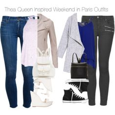 Arrow - Thea Queen Inspired Weekend in Paris Outfits