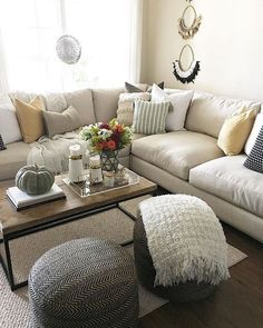 50 Adorable Farmhouse Living Room Furniture Design Ideas And Decor. If you are looking for [keyword], You come to the right place. Below are the 50 Adorable Farmhouse Living Room Furniture Design Idea. Living Room Colors, Cozy Living Rooms, Living Room Grey, Living Room Sofa, Home Living Room, Living Room Designs, Living Room Decor, Coastal Living, Apartment Living