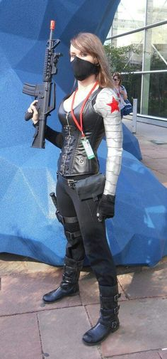 Winter Soldier #Rule63 #cosplay