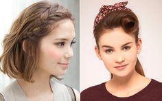 Deixe o tic tac de lado e inspire-se nessa seleção de fotos para arrasar nos penteados usando a franja