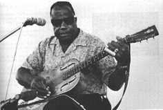 """Booker T. Washington White (November 12, 1906 – February 26, 1977), also known as Bukka White, was a delta blues guitarist and singer from Mississippi. """"Bukka"""" is actually not a nickname, but a misspelling of his given name Booker by Vocalion, his second record label. White started his career playing the fiddle at square dances; he typically played slide guitar in an open tuning. In 1930, this blues guitarist first recorded for the Victor Records label, his recordings altering between…"""
