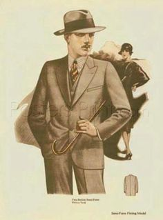 Men's Fashion I Giclee Print Poster by Unknown Online On Sale at Wall Art Store – Posters-Print.com