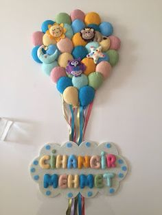Felt Banner, Garland, Origami, Diy And Crafts, Projects To Try, Baby, Doors, Ornaments, Search Engine