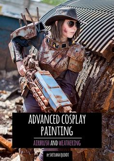 Advanced Cosplay Painting - Airbrush & Weathering - Ebook- Shop - Kamui Cosplay - Professional Cosplayer - Guest - Worbla - Tutorial Books - Cosplay - Costumes -  Armor Making - Props - Painting - Armor Patterns - Prints - Tutorial Videos