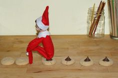 Chocolate chips chips and chocolate on pinterest for Elf on the shelf chocolate kiss