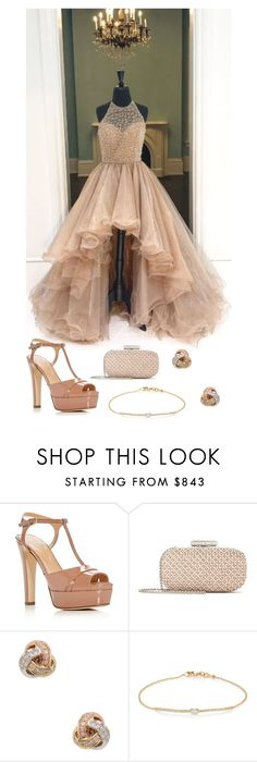 """""""Untitled #2824"""" by jem0kingston ❤ liked on Polyvore featuring Sergio Rossi, Oscar de la Renta, Nephora and Tate"""
