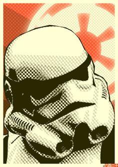 Star Wars - Stormtrooper by Aydin Biche-ool