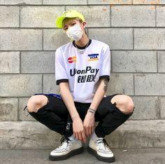 25 images about roupas masculinas on we heart it Cute Asian Guys, Asian Boys, Asian Men, Urban Fashion, Boy Fashion, Cat Dog, Ulzzang Fashion, Ulzzang Boy, Korean Men