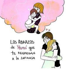 Los mejores abrazos del mundo  Por  @guadascribbles  #pelaeldiente  #feliz #comic #caricatura #viñeta #graphicdesign #funny #art #ilustracion #dibujo #humor #sonrisa #creatividad #drawing #diseño #doodle #cartoon #felizdíadelamadre #mamá #madre #mom #mami