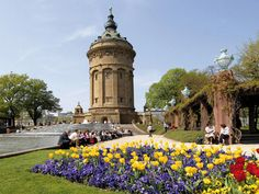 Perfect Mannheim Germany Water tower I miss German Architecture