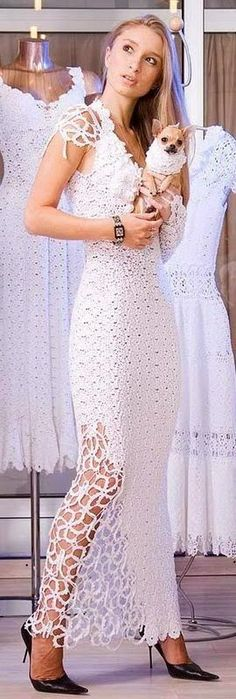 Невеста . Ирландское Вязание Крючком . Модели для вдохновения .