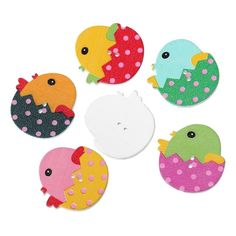 Aliexpress.com : Buy Wood Sewing Buttons Scrapbooking Chicken At ...