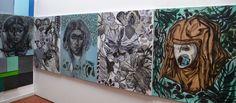 Selvatico.Tre/Una testa che guarda/Il buco dentro agli occhi o il punto dietro la testa/Cotignola Ra Museo civico Luigi varoli/30 novembre 2014-25 gennaio 2015/Massimiliano Fabbri