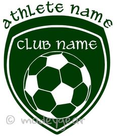 Soccer Trophy Wall Decal Vinyl Decal Car Decal CDS Wall - Soccer custom vinyl decals for car windows