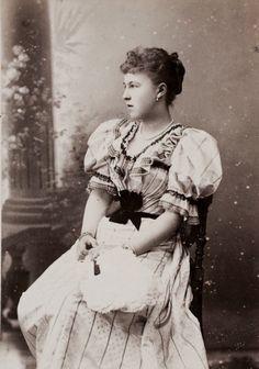 Princesse Alexandra d'Edimbourg (1878-1942) fille du prince Alfred et de la grande duchesse Maria Alexandrovna. Mariée au prince Charles-Ernest de Hohenlohe-Langenburg (1863-1950)