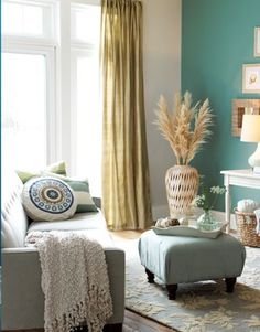 Yep, this is the color scheme for my living room...